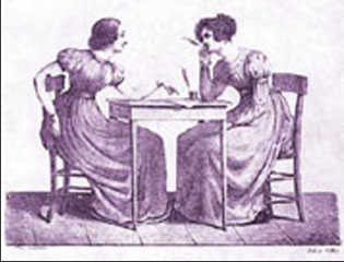 Ladies Writing